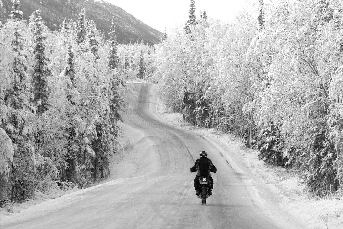 Im Winter Motorrad fahren? Da hätten wir ein paar Tipps!